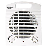 Energy Save Fan-Forced Space Heater, White