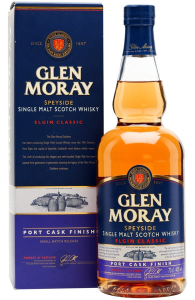 Glen Moray Classic Port Cask Finish | Whisky Delivery Malta
