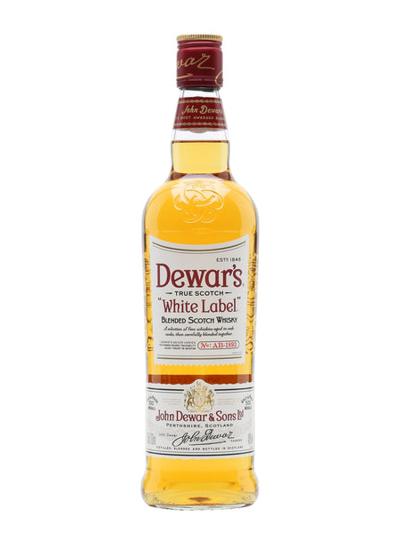 Dewar's Whisky White Lable Scotch Whiskey 1LTR Canadian Club 40% 70cl Malta | Spirits Malta | Whisky Malta