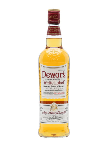 Dewar's Whisky White Lable Scotch Whiskey 1LTR