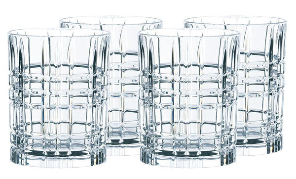 CRYSTAL Square Whisky Tumbler Set of 4 - NACHTMANN