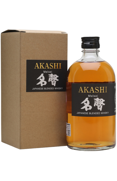 Akashi Meisei Japanese Blended Whisky 50cl