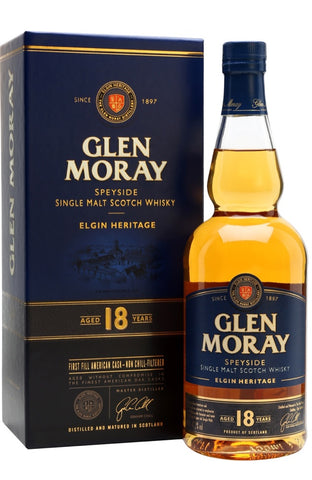 Glen Moray 18 Year Old - Elgin Heritage | Whisky Delivery Malta