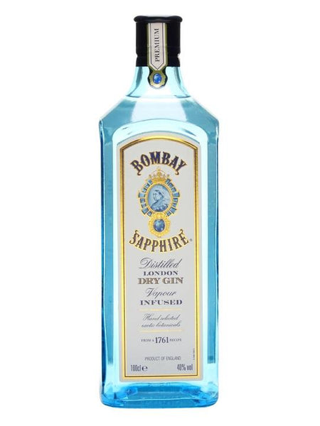 Bombay Sapphire Gin, 1LTR