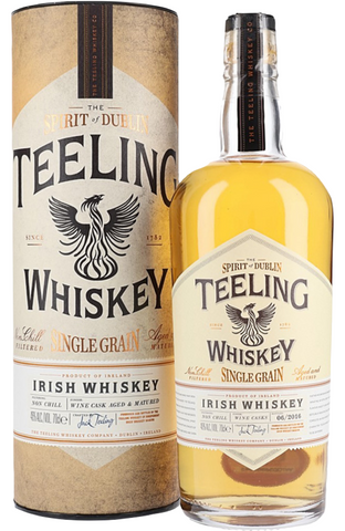 Teeling Single Grain Whiskey Irish Single Grain Whiskey 70cl 46% | Teeling Single Grain Irish Whisky
