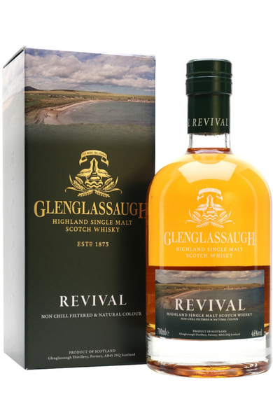 Glenglassaugh Revival Highland Single Malt Scotch Whisky Distillery Bottling 70cl / 46%