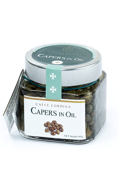 Capers In Oil 195G