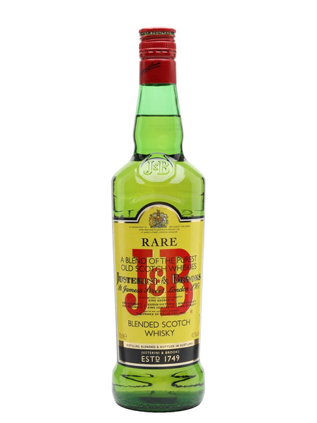 J&B Whisky 70cl - Spades wines & spirits Malta | Buy J&B Whisky Malta
