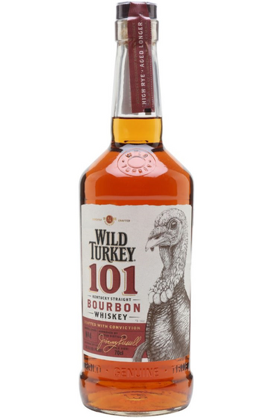 Wild Turkey 101 Proof Bourbon Kentucky Straight Bourbon Malta