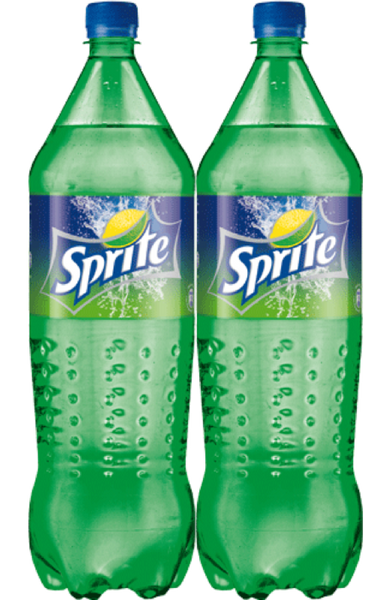 Sprite 1.5 Ltr x 2 bottles (twin pack)