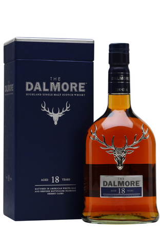 Dalmore 18 YO Single Malt Scotch Whisky Malta