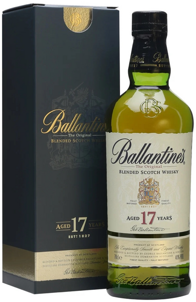 Ballantine's 17 Year Old Blended Scotch Whisky 70cl / 40%
