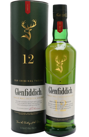 Glenfiddich 12 Year Old Whisky, 70cl Malta - Spades Wines & | Glenfiddich 12 Malta