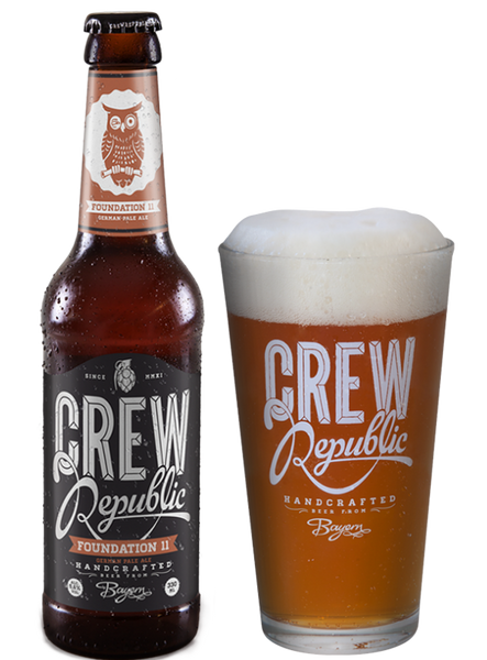 Crew Republic - Foundation 11 English Pale Ale  Alc. 5.6% vol. 33cl - Spades Wines & Spirits | Crew Republic Malta | Craft beer | Buy Craft beer Malta | Beer