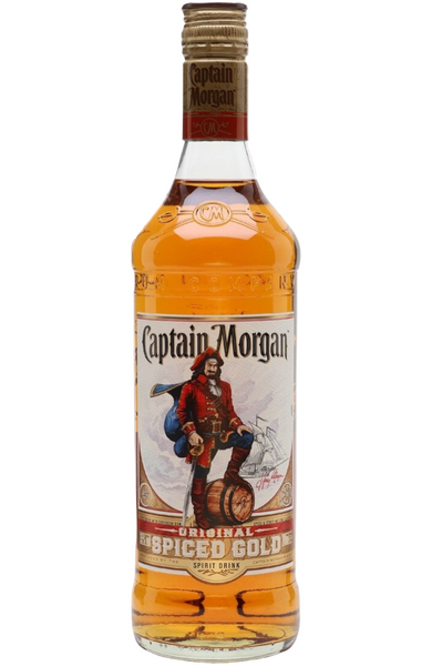 Captain Morgan Spiced Gold Rum 1Ltr Malta - Spades Wines & Spirits | Buy alcohol online | Buy Alcohol malta | Alcohol delivered to your door | Buy Captain Morgan Malta | Wholesale Spirits | Alcohol Importer | Buy Spirits online | Spirits Malta | Rum Malta