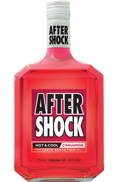 After Shock Hot & Cool Red Liqueur 70cl