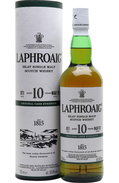 Laphroaig 10 Year Old Islay Single Malt Scotch Whisky, 70 cl Malta | Spirits Malta | Whisky Malta | Laphroaig Malta