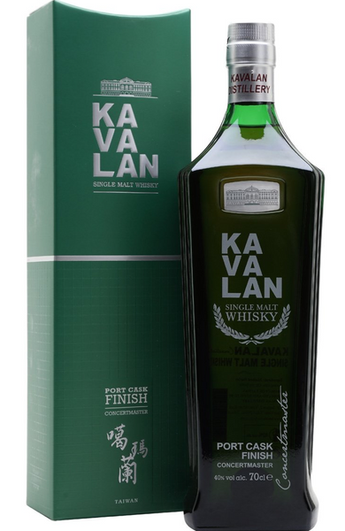 Kavalan Concertmaster Port Cask Finish Taiwanese Single Malt Whisky 70cl 40% | Kavalan Whisky Malta