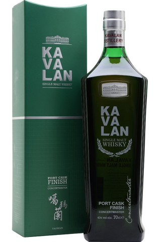 Kavalan Concertmaster Port Cask Finish Taiwanese Single Malt Whisky 70cl / 40%