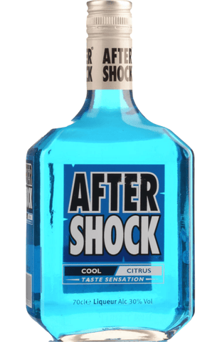 After Shock Blue 30% 70cl - Spades Wines & Spirits