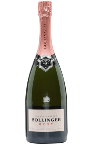 Bollinger Rose NV Champagne 75cl / 12% (no box) - Spades Wines & Spirits