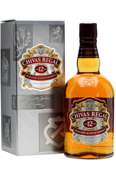 Chivas Regal 12 Year Old Blended Scotch Whisky 70cl - Spades Wines & Spirits | Buy alcohol online | Buy Alcohol malta | Alcohol delivered to your door | Buy Chivas Regal Malta | Wholesale Spirits | Alcohol Importer | Buy Spirits online | Spirits Malta | Whisky Malta