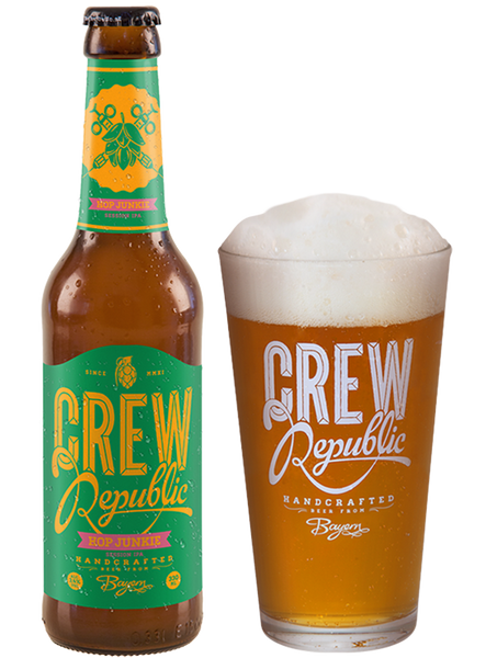 Crew Republic - Hop Junkie Session IPA  Alc. 3.4% vol. 33cl- Spades Wines & Spirits | Crew Republic Malta | Craft beer | Buy Craft beer Malta | Beer