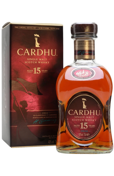 Cardhu 15 Year Old Speyside Single Malt Scotch Whisky