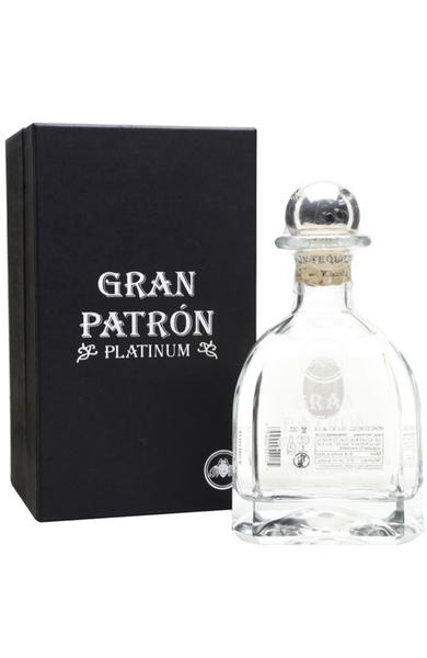 Patron Platinum 70cl 40% + Gift Box