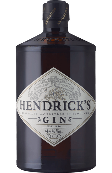 Hendricks Distilled Gin, 70cl - Spades Wines & Spirits Malta | Buy Gin Malta | Buy Hendrick's Gin Malta