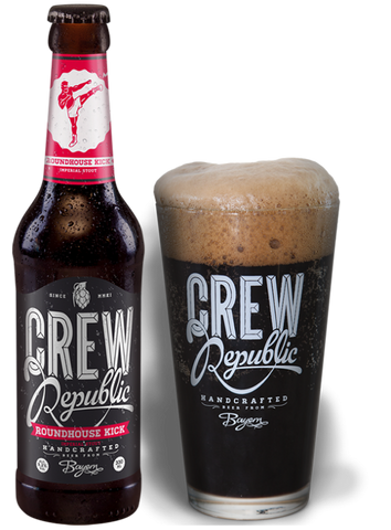 Crew Republic - Roundhouse Kick Imperial Stout  Alc. 9.2% vol. 33cl - Spades Wines & Spirits | Crew Republic Malta | Craft beer | Buy Craft beer Malta | Beer