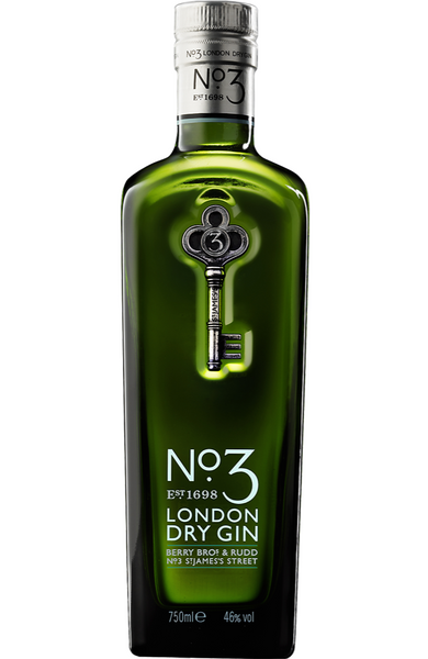 No.3 London Dry Gin 70cl | Buy No.3 London Dry Gin Malta