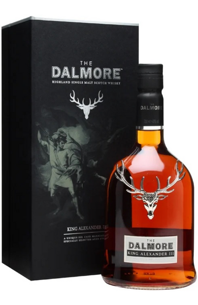Dalmore King Alexander III Highland Single Malt Scotch Whisky Distillery Bottling 70cl / 40%