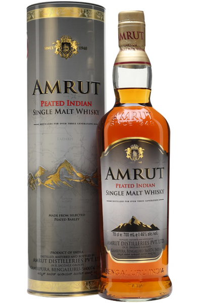 Amrut Peated Indian Single Malt Whisky 70cl / 46%
