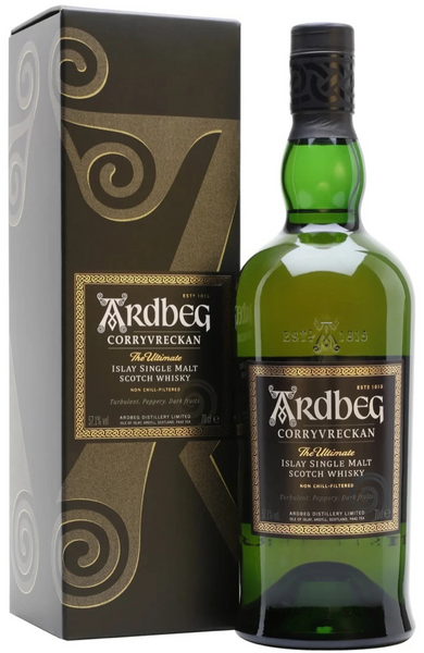 Ardbeg Corryvreckan Islay Single Malt Scotch Whisky Distillery Bottling 70cl / 57.1%