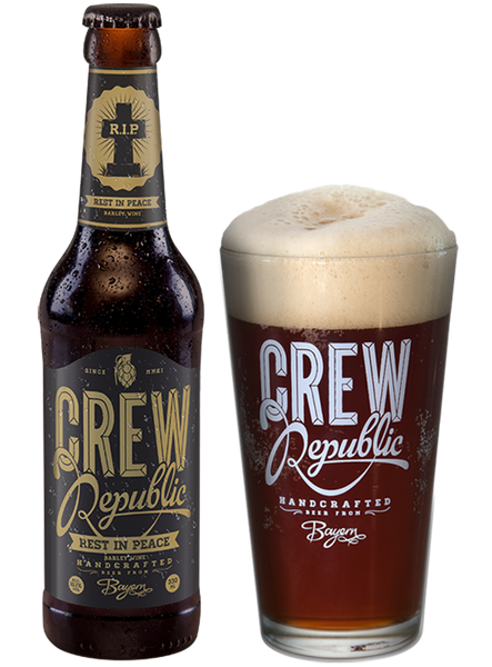 Crew Republic - Rest in Peace, Barley Wine Alc. 10.1% vol. 33cl - Spades Wines & Spirits | Crew Republic Malta | Craft beer | Buy Craft beer Malta | Beer