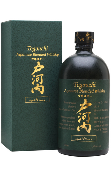 Togouchi 9 Year Old Japanese Blended Whisky Malta