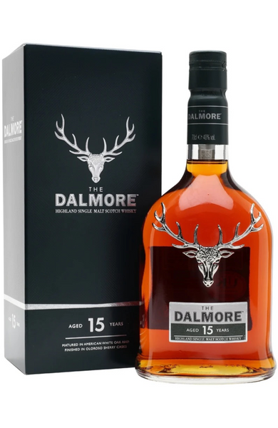 Dalmore 15 Year Old Highland Single Malt Scotch Whisky Distillery Bottling 70cl / 40%