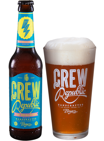 Crew Republic - 7:45 Escalation Double IPA  Alc. 8.3% vol. 33cl - Spades Wines & Spirits | Crew Republic Malta | Craft beer | Buy Craft beer Malta | Beer