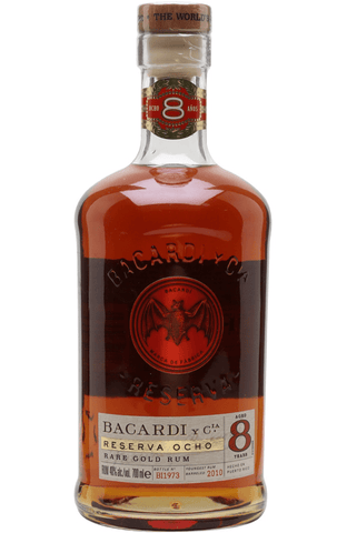 Bacardi 8 Anos 70cl | Buy Bacardi 8 year Malta