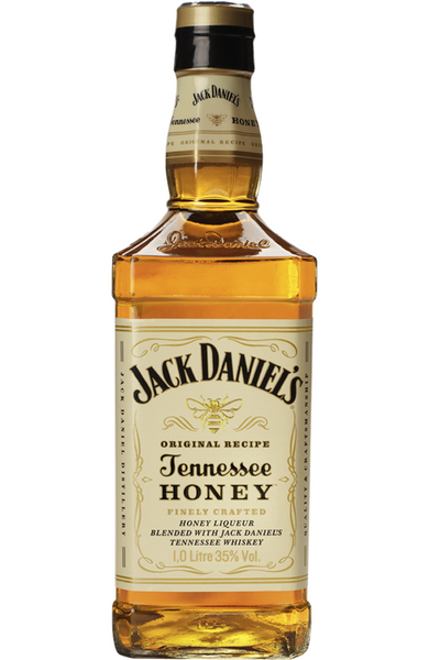 Jack Daniel's Tennessee Honey Whiskey Liqueur 100cl / 35% - Spades wines & spirits Malta | Buy Jack Daniels Honey Malta