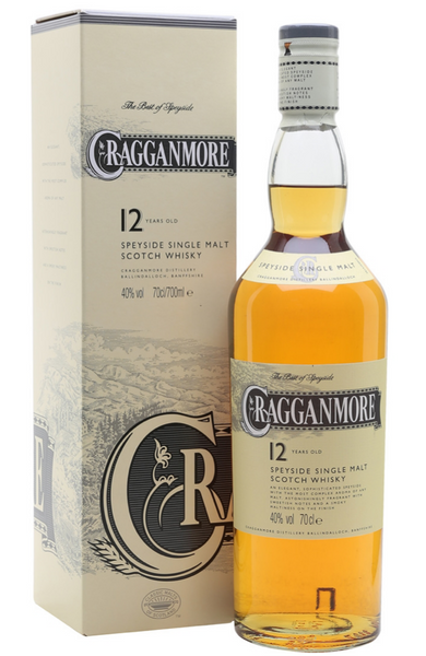 Cragganmore 12 Year Old 70cl, 40%