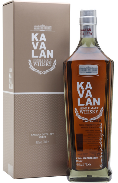 Kavalan Distillery Select Single Malt Taiwanese Whisky Distillery