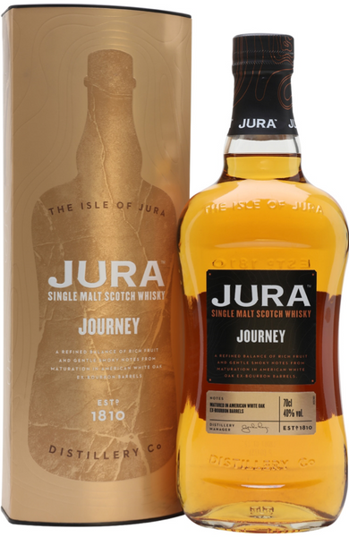 Jura Journey Island Single Malt Scotch Whisky Distillery Bottling 70cl 40%
