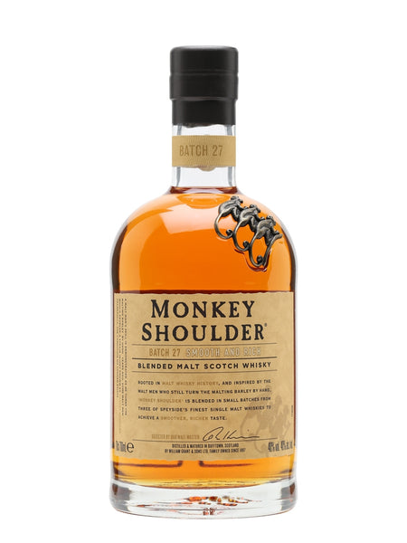 Monkey Shoulder Blended Malt Scotch Whisky 100cl / 40% 1LTR