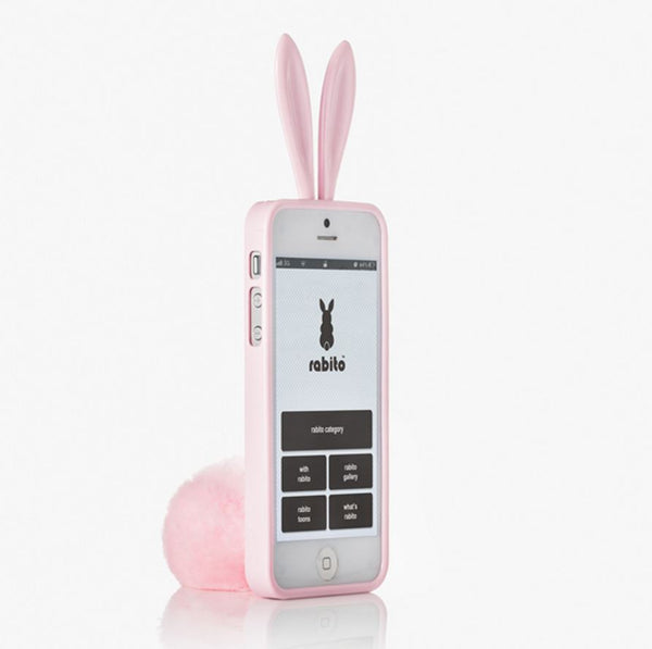 Rabito iPhone 5/5S/SE Bling Bling Baby Pink - The Rabito Shop