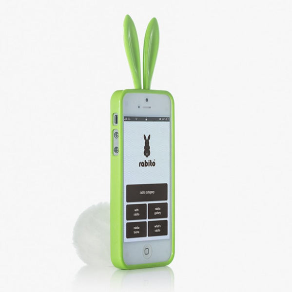 Rabito iPhone 5/5S/SE Bling Bling May Green - The Rabito Shop