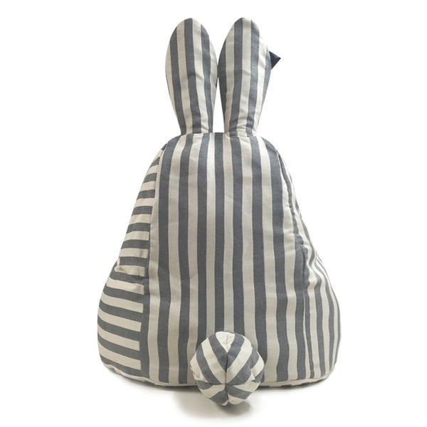 Rabito Bean Bag Limited Edition (Vintage Grey Stripes) - The Rabito Shop