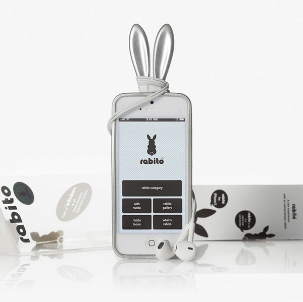 Rabito iPhone 5/5S/SE Bling Bling Silver - The Rabito Shop