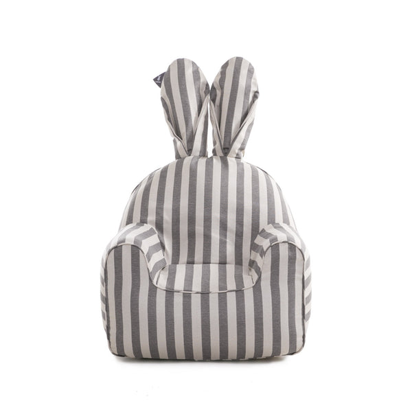 Cover for your Rabito Chair in Vintage Grey Stripes - The Rabito Shop